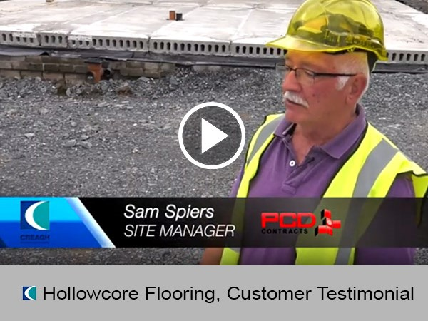 Hollowcore Flooring, Customer Testimonial